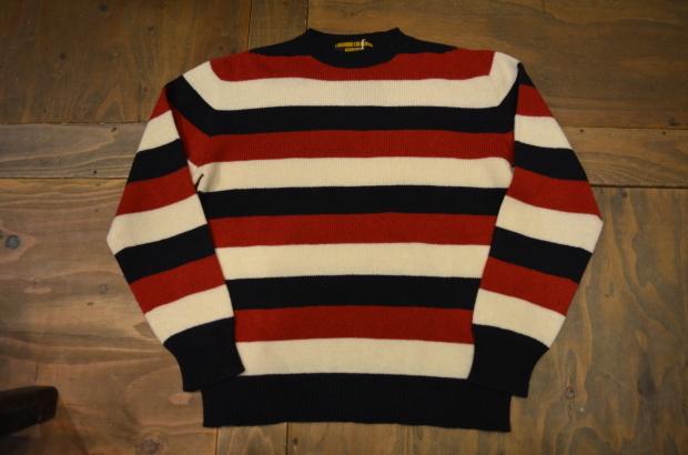 Wholegarment Border Sweater!!_c0355834_18184512.jpg
