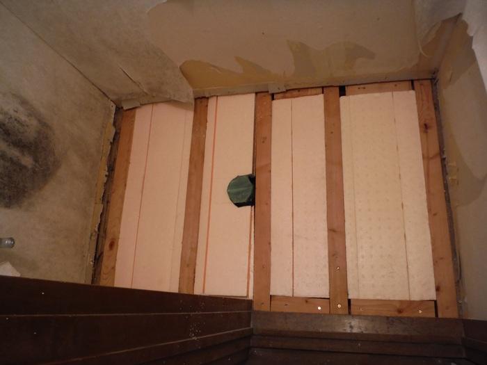 トイレ工事 ~ 床づくり_d0165368_233886.jpg