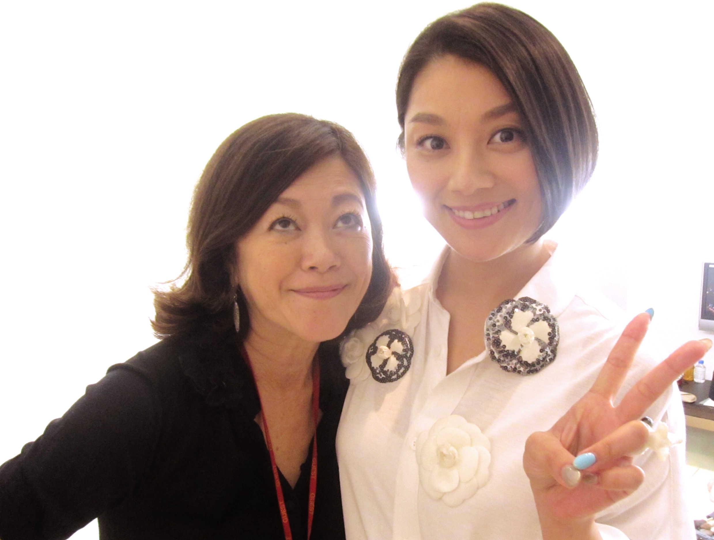 小池栄子姫が髪を切ったぜ♪_d0339889_11554407.jpg