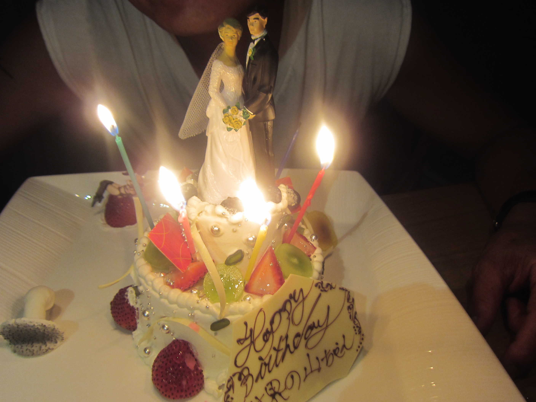 サーファーヘアメイク山口さんの誕生日@酒肆ガランス♪_d0339889_11555148.jpg