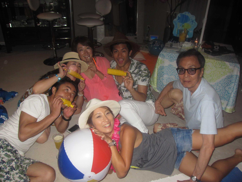 海の家パーティー1@キング宅♪_d0339889_11555361.jpg