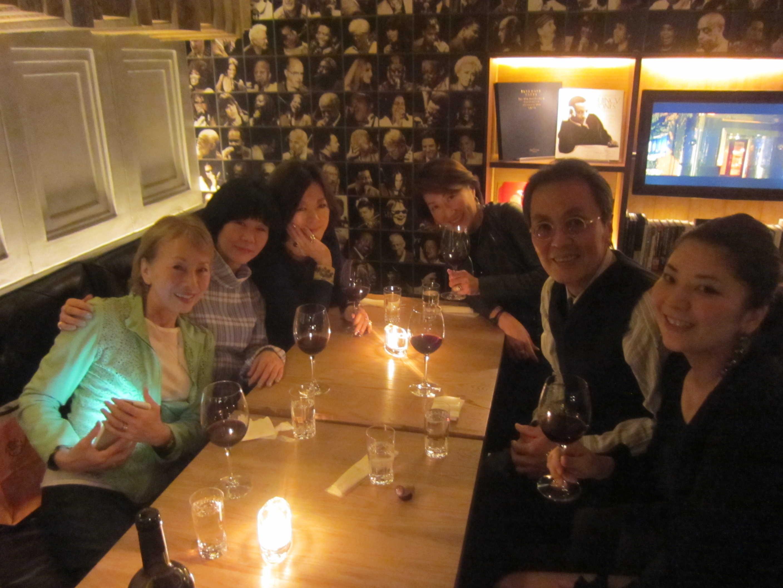 笠井紀美子さん歓迎!食事会@ダイニズテーブル♪_d0339889_11565624.jpg
