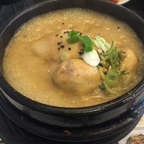 黄金のスープ 高峰参鶏湯を食す_c0267598_21281958.jpg