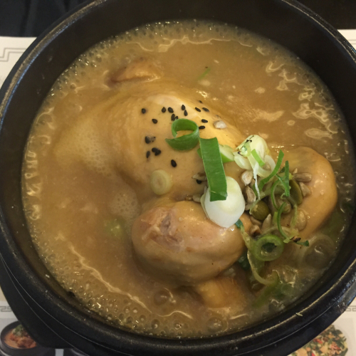 黄金のスープ 高峰参鶏湯を食す_c0267598_22014690.jpg