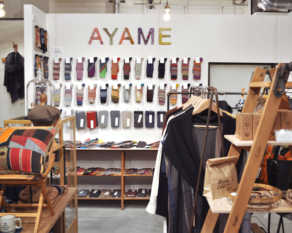 「Ayame\' 2015 AW Collection Fair」始まりました!_d0193211_15523539.jpg