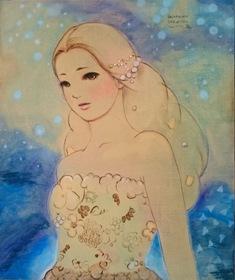 2015/11/18ー29「進川桜子展 花謳う少女たち」 【絵画】_e0091712_16161541.jpg