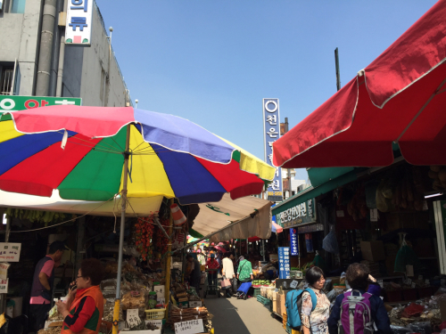 15年SWソウル  5★京東市場で勉強の成果を試してみる_d0285416_22025303.jpg