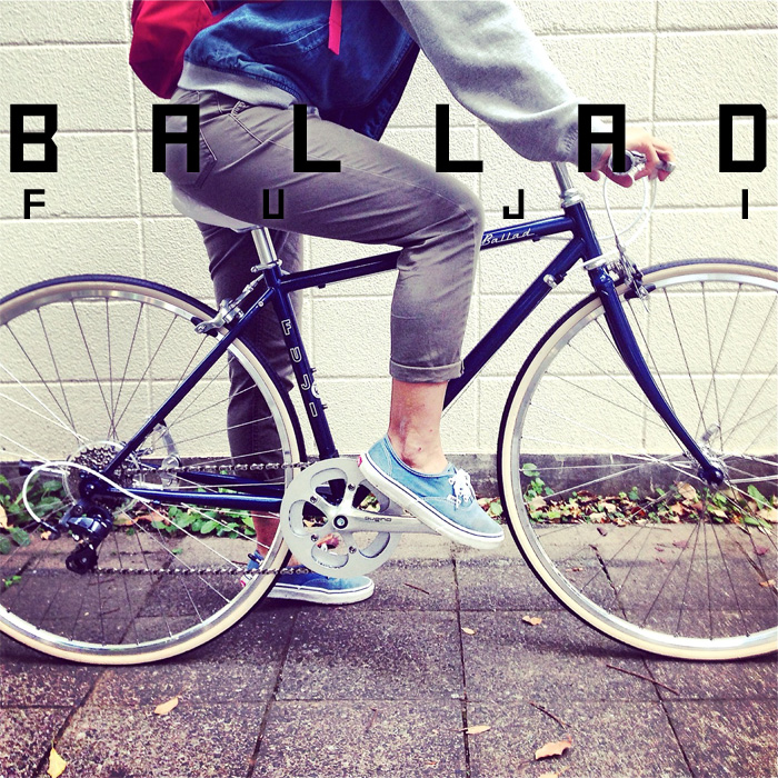 2016 FUJI BALLAD バラッド fuji フジ 女子 おしゃれ自転車 クロスバイク_b0212032_18113938.jpg