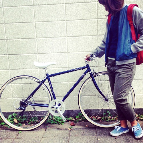 2016 FUJI BALLAD バラッド fuji フジ 女子 おしゃれ自転車 クロスバイク_b0212032_1813358.jpg