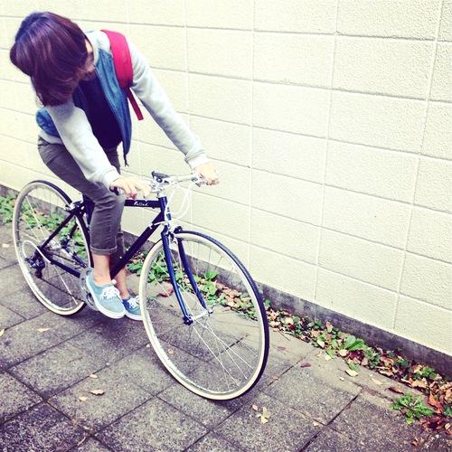2016 FUJI BALLAD バラッド fuji フジ 女子 おしゃれ自転車 クロスバイク_b0212032_18163925.jpg
