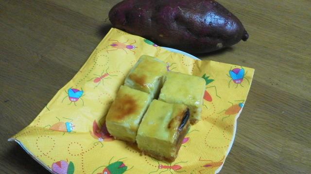 さつま芋、美味しいおかしになりました(*^-\')b_f0079749_19473573.jpg