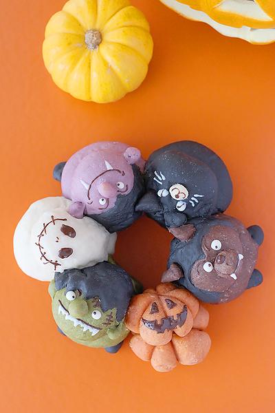 【ハロウィン新レシピ】ハロウィンの3Dちぎりパンハロウィンの3Dちぎりパン_f0149855_20544934.jpg