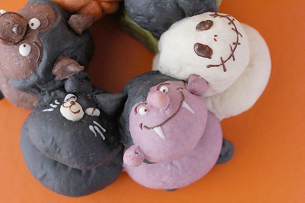 【ハロウィン新レシピ】ハロウィンの3Dちぎりパンハロウィンの3Dちぎりパン_f0149855_2055763.jpg