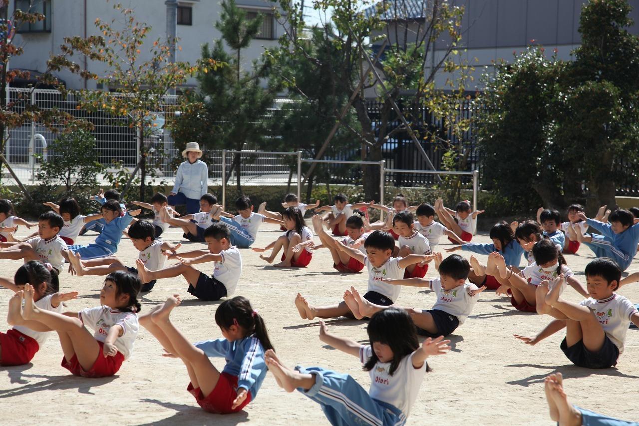 組体操(年長組)_b0277979_18355855.jpg