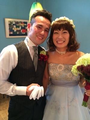 Happy Wedding! はいチーズ!!_e0120789_00140680.jpg