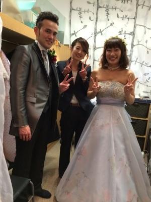 Happy Wedding! はいチーズ!!_e0120789_00221950.jpg