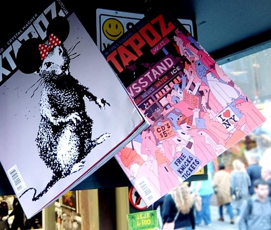 NYのタイムズ・スクエアに昔ながらのレトロなニュース・スタンドのアート作品、登場中_b0007805_19404561.jpg