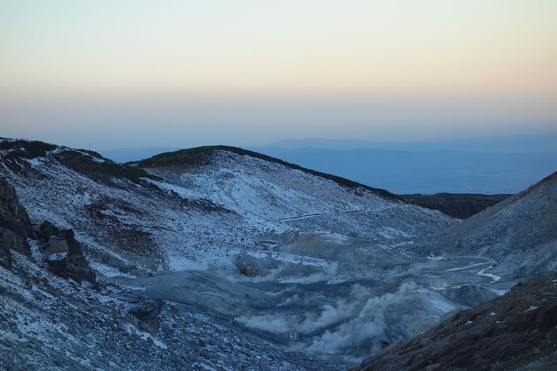 立山の早朝トレッキング_d0116009_7555978.jpg