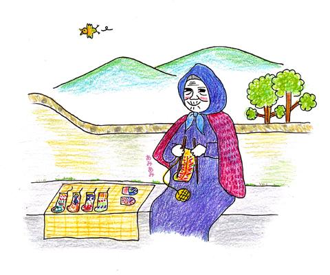 イランのおばあちゃんの手編み靴下の村_d0156336_1929369.jpg