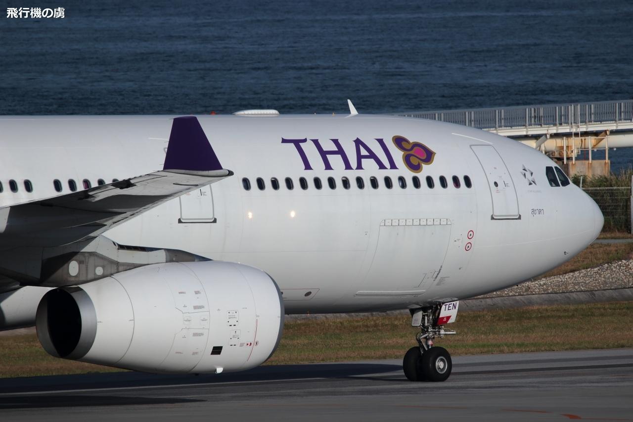 タイ国際航空(TG)のチャーター便_b0313338_10122221.jpg