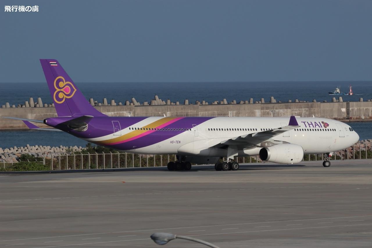 タイ国際航空(TG)のチャーター便_b0313338_10122688.jpg