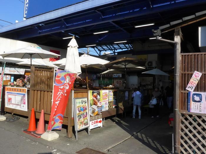 小田原魚市場場外市場「港の台所なみ」へ行く。_f0232060_20345561.jpg
