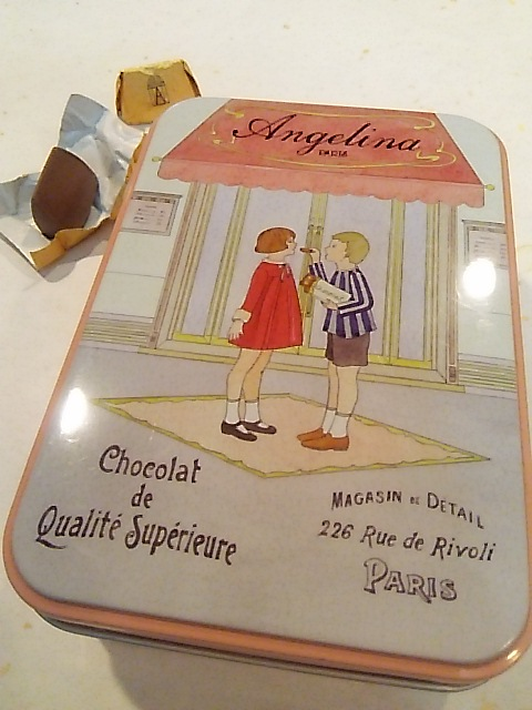 ミニマリアの豆乳のハチミツ寒天❤とパリのお土産 ANGELINA Paris &Maxims de ParisのSweetS。.:*:・\'°☆_a0053662_2191917.jpg
