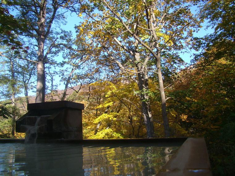 蔵王温泉は紅葉が真っ盛り。_b0185375_8424746.jpg