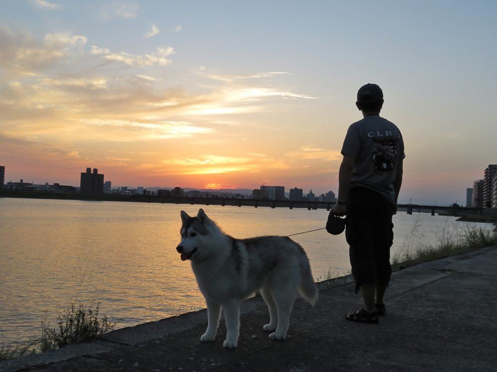 夕暮れさんぽ、いい季節(*^_^*)_c0049299_22231319.jpg