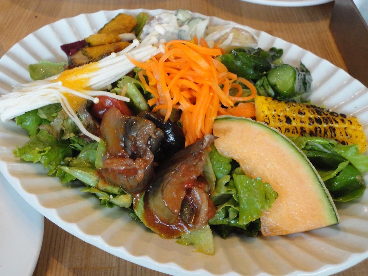 GMCでお野菜ランチ&ケーキセット_e0230011_1931196.jpg