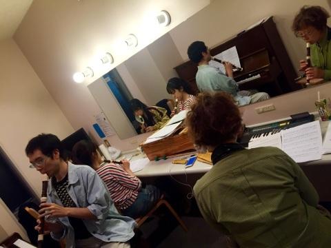 三文オペラ、劇場で稽古☆_c0234031_09452316.jpg