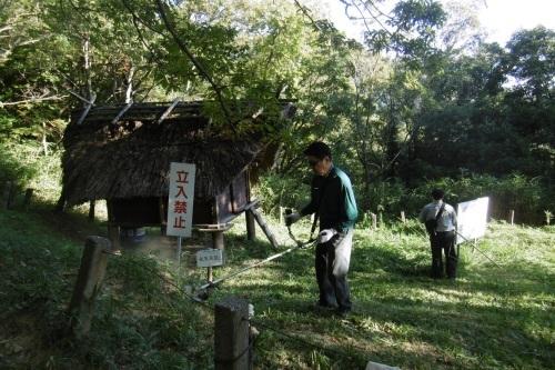早朝から草刈り奉仕_f0205367_21444423.jpg