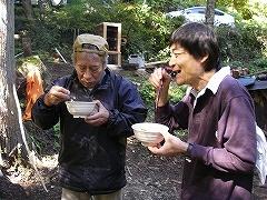 帰雲山荘きのこ鍋_e0064783_20194369.jpg