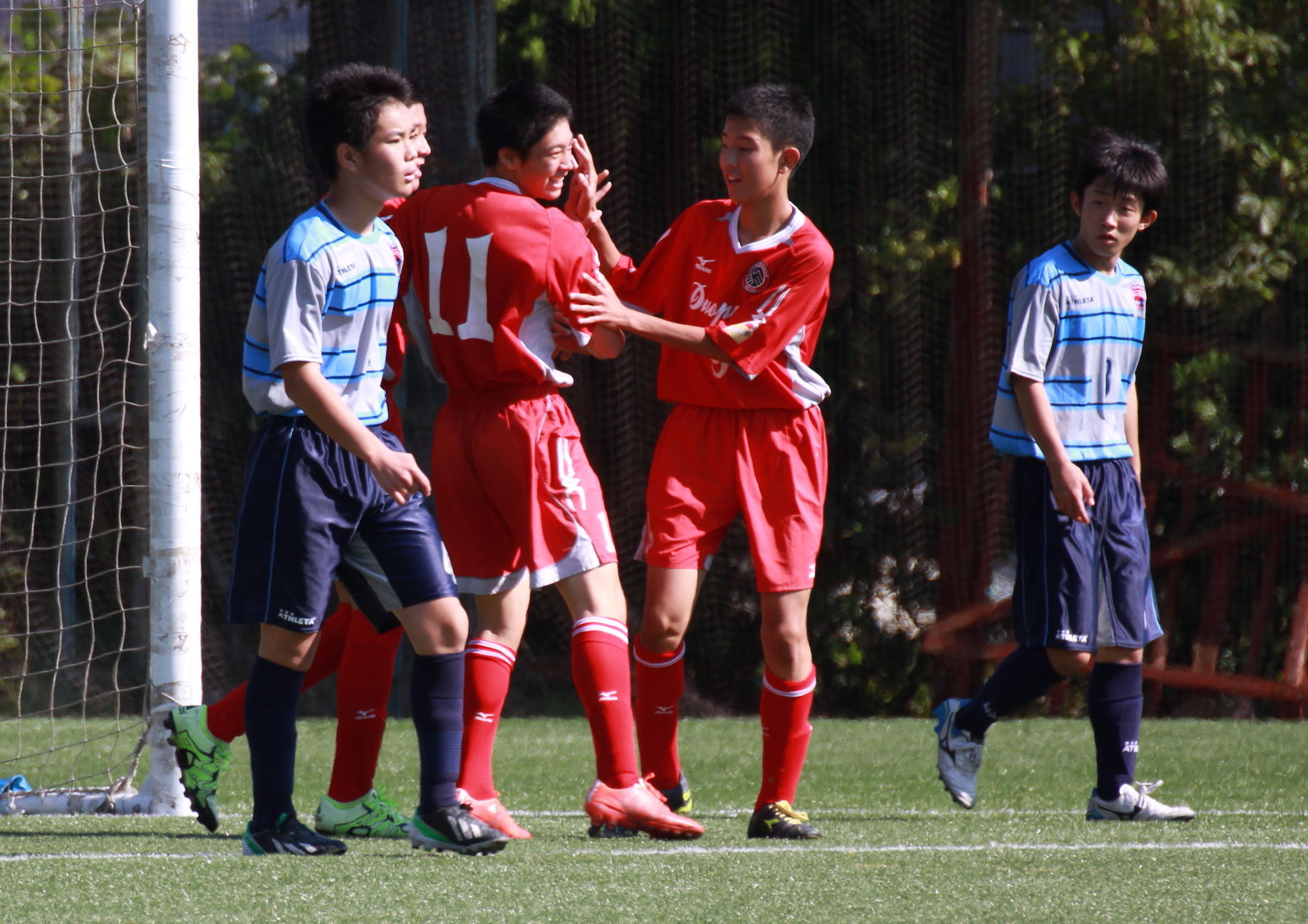 U-15 MJ1部入替戦:DUO PARK FC vs FCエナブル October 17, 2015_c0365198_12011433.jpg