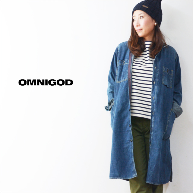 OMNIGOD[オムニゴッド] 6.5OZ DENIM WORK ONE PIECE [57-547E] LADY\'S_f0051306_11263773.jpg