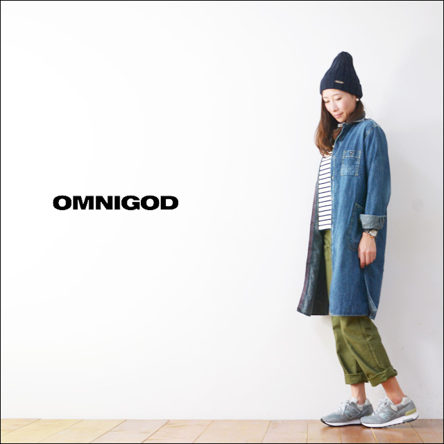 OMNIGOD[オムニゴッド] 6.5OZ DENIM WORK ONE PIECE [57-547E] LADY\'S_f0051306_11263877.jpg