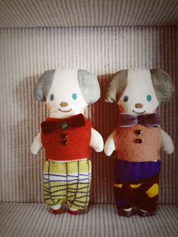 お人形、ミドリネコ舎さんへ_c0140216_12422480.jpg