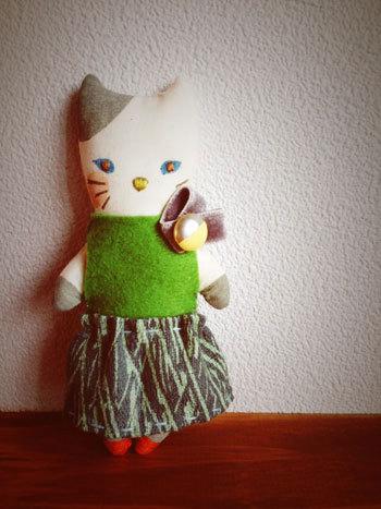 お人形、ミドリネコ舎さんへ_c0140216_12471386.jpg