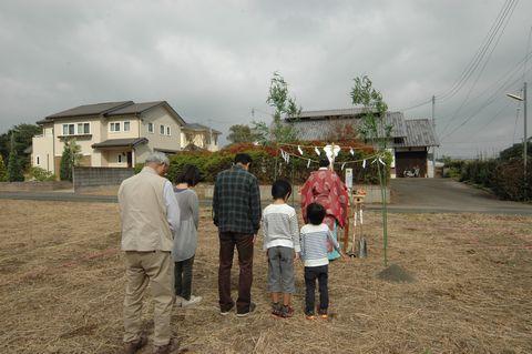 つくば市内で地鎮祭がございました。_a0059217_16344267.jpg