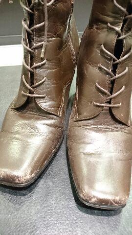 レディースのブーツのお手入れ(柔らかい革編)_b0226322_11575322.jpg