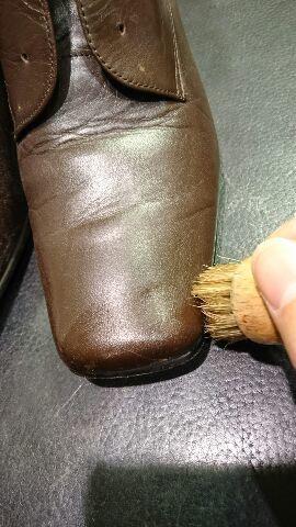 レディースのブーツのお手入れ(柔らかい革編)_b0226322_12072601.jpg