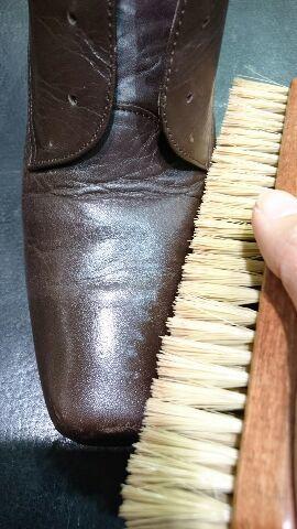 レディースのブーツのお手入れ(柔らかい革編)_b0226322_12111270.jpg