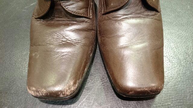 レディースのブーツのお手入れ(柔らかい革編)_b0226322_12194434.jpg