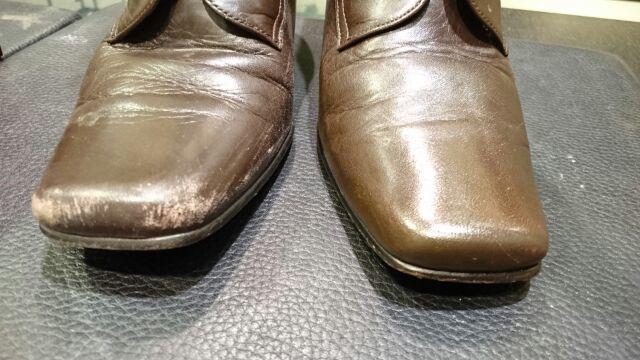 レディースのブーツのお手入れ(柔らかい革編)_b0226322_12194803.jpg