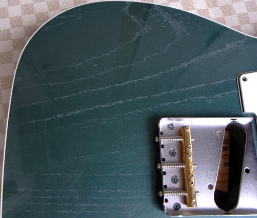 「Moire Green PearlのStandard-T」の塗装が完了!_e0053731_1633813.jpg