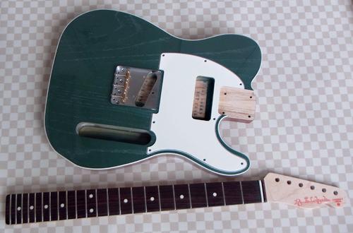 「Moire Green PearlのStandard-T」の塗装が完了!_e0053731_1634213.jpg