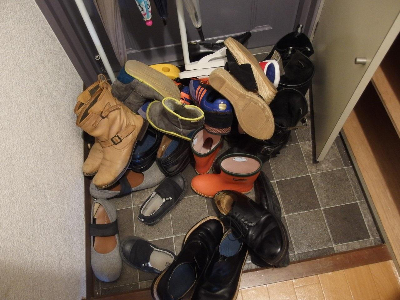 断捨離 靴