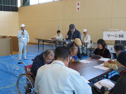 障がい者の避難訓練_b0159251_1025554.jpg
