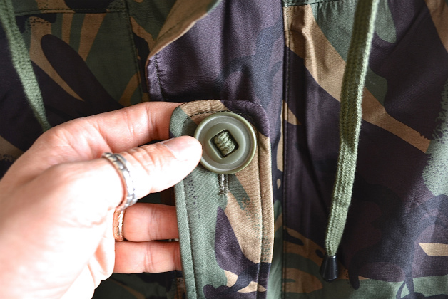 U.K army DPM camouflage Gore-tex jacket dead stock_f0226051_14272488.jpg