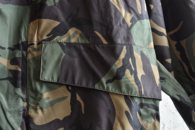 U.K army DPM camouflage Gore-tex jacket dead stock_f0226051_14314087.jpg